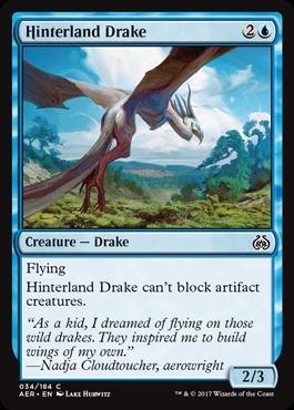 Hinterland Drake - Foil