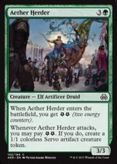Aether Herder - Foil on Channel Fireball