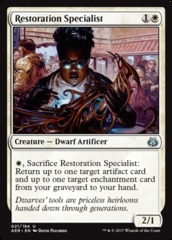Restoration Specialist on Channel Fireball