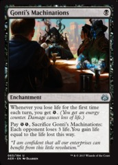 Gonti's Machinations - Foil on Channel Fireball