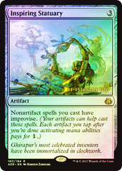 Inspiring Statuary (Aether Revolt Prerelease Foil) on Channel Fireball
