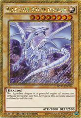 Blue-Eyes White Dragon - MVP1-ENGV4 - Gold Secret Rare - Limited Edition on Channel Fireball