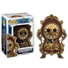 Funko Pop - Beauty and the Beast (2017) - #245 - Cogsworth