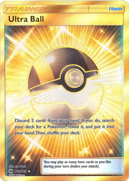 Ultra Ball - 161/149 - Secret Rare