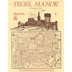 Judges Guild: Tegel Manor - Classic Reprint (1E)