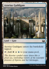 Azorius Guildgate - Foil (MM3)