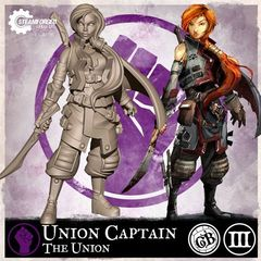 Guild Ball: Union's Guild - Union Captain