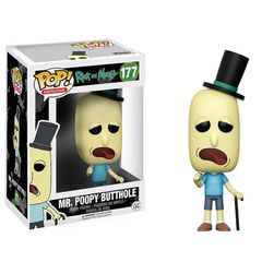 Pop! - Mr. Poopy Butthole (Rick and Morty)