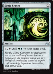 Simic Signet on Channel Fireball