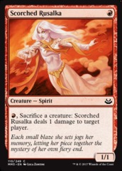 Scorched Rusalka - Foil
