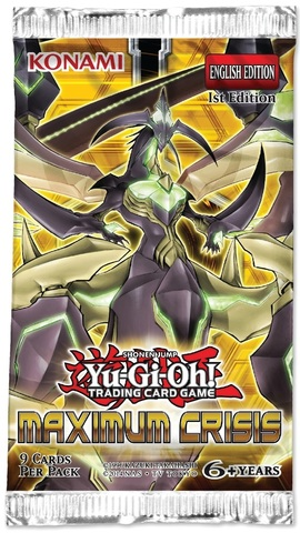 Yu-Gi-Oh! - Maximum Crisis - Booster Pack