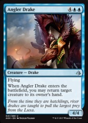 Angler Drake - Foil on Channel Fireball