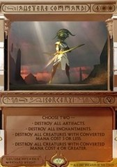 Austere Command (Masterpiece Foil) on Channel Fireball