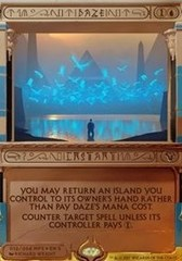Daze (Masterpiece Foil) on Channel Fireball