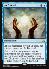 As Foretold - Foil on Channel Fireball