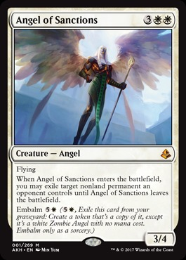 Angel of Sanctions - Foil