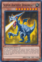 Super-Ancient Dinobeast - SR04-EN007 - Common - 1st Edition on Channel Fireball