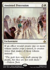 Anointed Procession - Foil on Channel Fireball