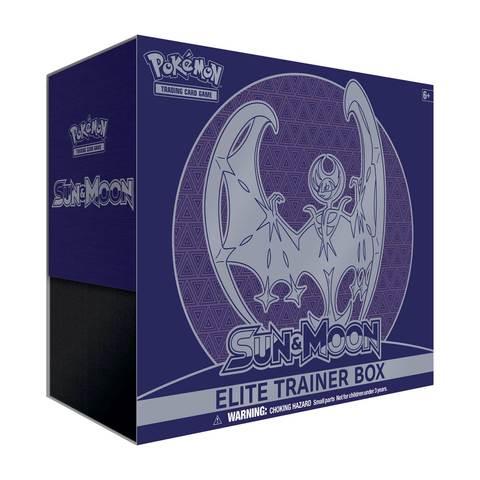 Sun & Moon GX Elite Trainer Box - Lunala