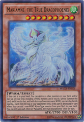 Mariamne, the True Dracophoenix - MACR-EN026 - Ultra Rare - 1st Edition