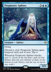 Prognostic Sphinx on Channel Fireball