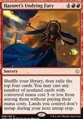 Hazoret's Undying Fury - Foil