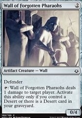 Wall of Forgotten Pharaohs - Foil