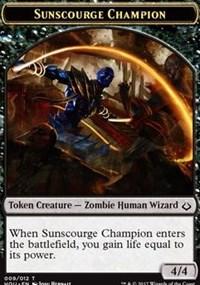 Sunscourge Champion Token
