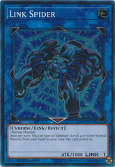 Link Spider - YS17-EN043 - Super Rare - 1st Edition on Channel Fireball