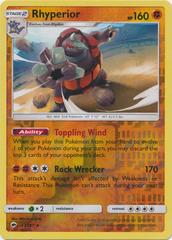 Rhyperior - 67/147 - Holo Rare - Reverse Holo