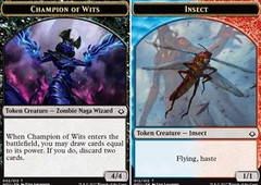 Champion of Wits // Insect Token