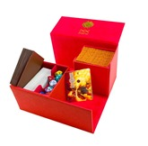 Dex Protection - Deck Box Creation Red L
