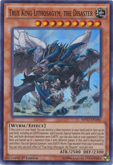 True King Lithosagym, the Disaster - MP17-EN186 - Super Rare - 1st Edition