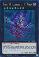 Number 68: Sanaphond the Sky Prison - CT14-EN008 - Super Rare - Limited Edition