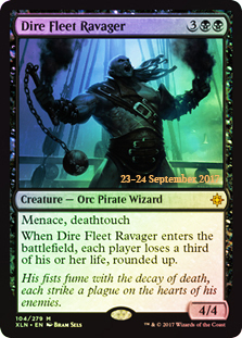 Dire Fleet Ravager (Ixalan Prerelease Foil)