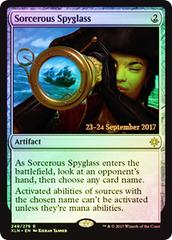 Sorcerous Spyglass - Foil - Prerelease Promo