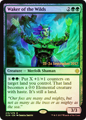 Waker of the Wilds (Ixalan Prerelease Foil) on Channel Fireball