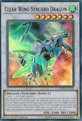 Clear Wing Synchro Dragon - LEDD-ENC29 - Ultra Rare - 1st Edition on Channel Fireball