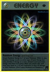 Rainbow Energy - 80/82 - Rare - 1st Edition