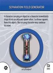 - #S03 Seperation Field Generator