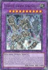 Ultimate Ancient Gear Golem - DT03-EN033 - Common - 1st Edition