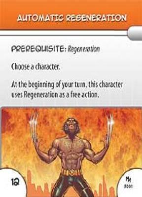- #F01 Automatic Regeneration