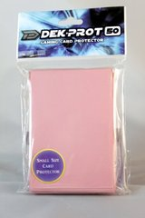 Dek Prot 50ct. Yugioh Sized Sleeves - Coral Pink