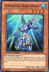 Elemental Hero Ocean - CT07-EN018 - Super Rare - Limited Edition