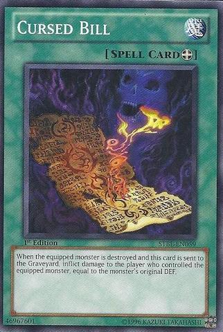Cursed Bill - STBL-EN059 - Common - 1st Edition