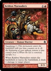 Keldon Marauders - Foil on Channel Fireball