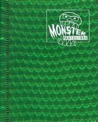 4-Pocket Monster Binder - Holo Green