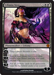 Liliana Vess - Duels of the Planeswalkers PS3 Foil