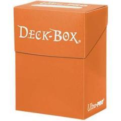 Orange Deck Box Ultra Pro