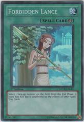 Forbidden Lance - STOR-EN061 - Super Rare - 1st Edition on Channel Fireball